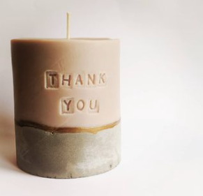 Personalised candles make great corporate gifts