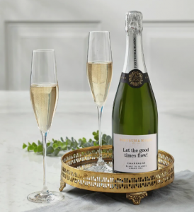 Fortnum's Personalised Blanc de Blancs Champagne