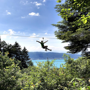 Zip Wire La Clusaz and Lake Annecy
