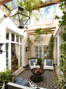 Courtyard and garden design