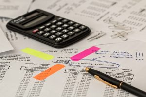 Bookkeeping calculator