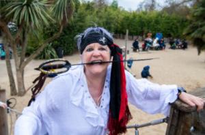 The Adventure Aunt - a pirate