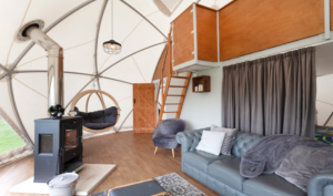 Geodesic domes in Rutland
